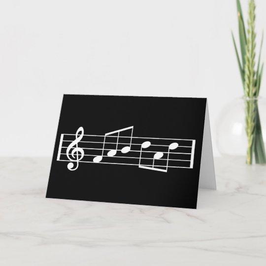 Fab Dad Music Note Birthday Card Treble Clef