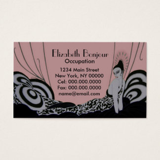 Fab Fashion Plate ~ Business Card