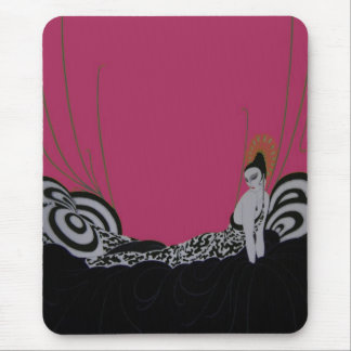 Fab Fashion Plate ~ Mousepad Vintage Art Deco
