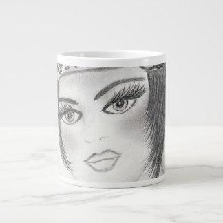 Fab Flapper Large Coffee Mug