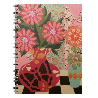 Fab Flowers Notebook