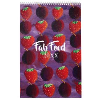 Fab Food Calendar