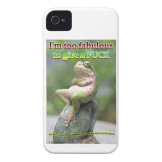 FAB FROG FREDDIE iPhone 4 COVER
