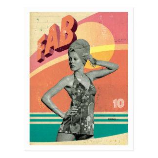 'Fab' postcard