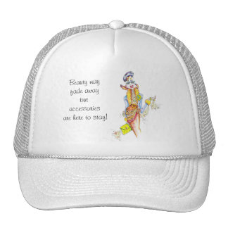 Fab' woman-to-woman humor by ColleneKennedy Trucker Hat