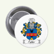 Fabbri Family Crest Button
