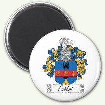 Fabbri Family Crest Magnet