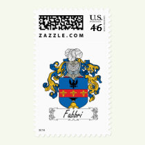 Fabbri Family Crest Stamps