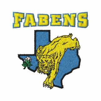 Fabens High School Wildcats Embroidered Shirt