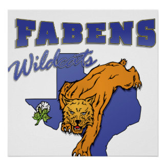 Fabens Wildcats Poster
