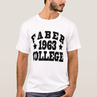 FABER COLLEGE 1963 T-Shirt