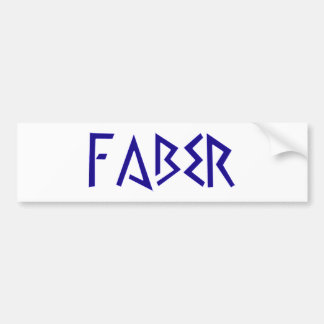 faber craftsman craftsman bumper sticker