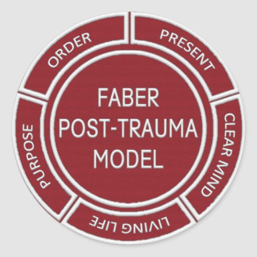 Faber Post Trauma Model Sticker