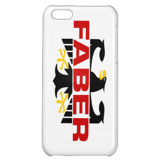 Faber Surname iPhone 5C Cover