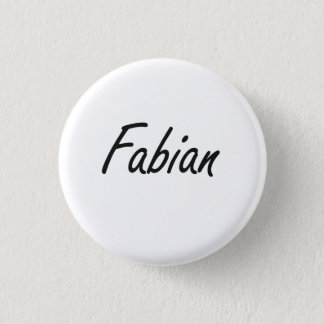 Fabian Artistic Name Design Button