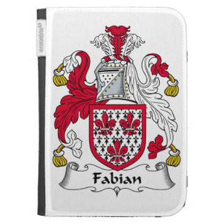 Fabian Family Crest Kindle 3 Covers