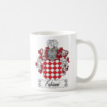 Fabianni Family Crest Mug