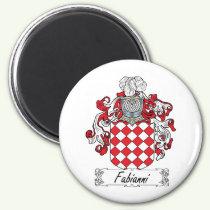 Fabianni Family Crest Magnet