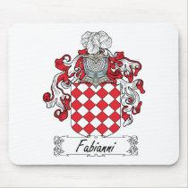 Fabianni Family Crest Mousepad