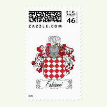 Fabianni Family Crest Stamps