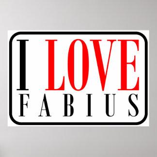 Fabius, Alabama Poster