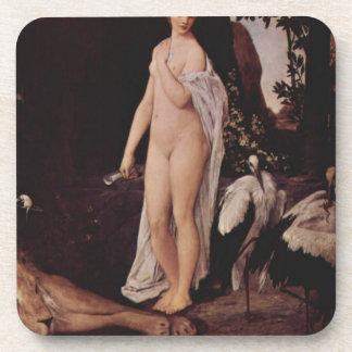 Fable by Gustav Klimt Coaster