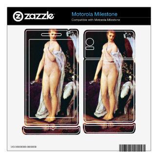 Fable by Gustav Klimt Motorola Milestone Skin