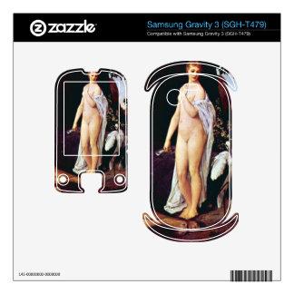 Fable by Gustav Klimt Samsung Gravity 3 Skins