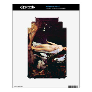 Fable by Gustav Klimt Decals For The Kindle