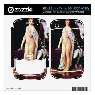 Fable by Gustav Klimt Skin For BlackBerry Curve