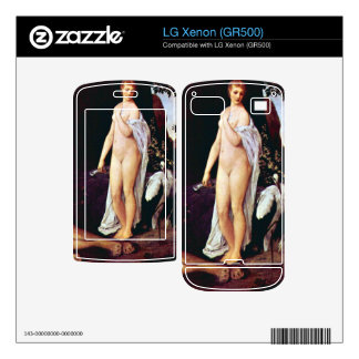 Fable by Gustav Klimt Decals For LG Xenon