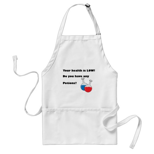 Fable-Health is Low Adult Apron