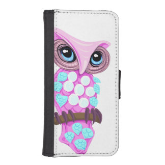 Fable Owl iPhone SE/5/5s Wallet