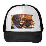 fabook print mesh hat