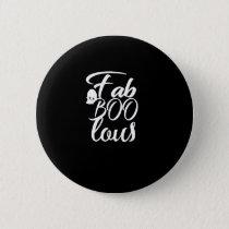 Faboolous Womens Halloween  Cute Ghost Gift Button
