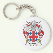Fabregas Family Crest Keychain