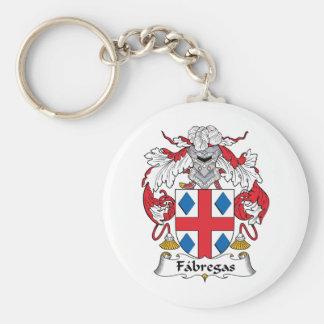 Fabregas Family Crest Keychain