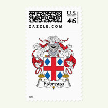 Fabregas Family Crest Stamps