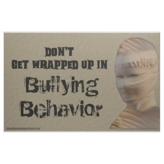"""Fabric Bulletin Board """"Don't Get Wrapped Up in ..."""