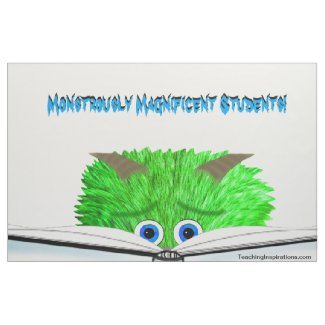 """Fabric Bulletin Board """"Monstrously Magnificent...."""