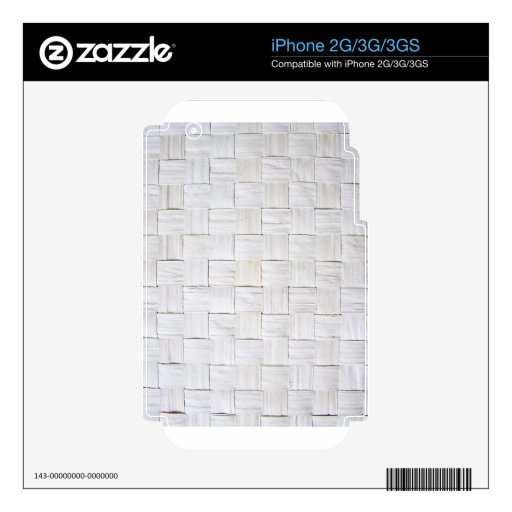 Fabric Checks modern design trend latest style fas Decals For The iPhone 2G