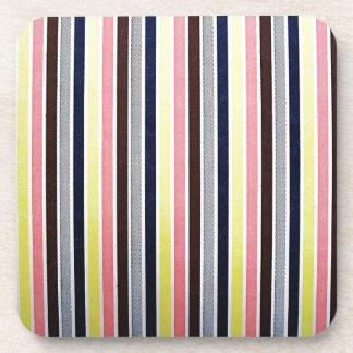 Fabric Checks modern design trend latest style fas Drink Coaster