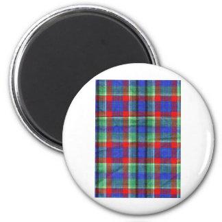 Fabric Checks modern design trend latest style fas Magnet