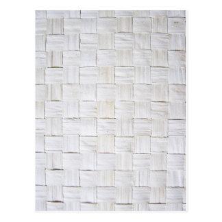 Fabric Checks modern design trend latest style fas Postcard