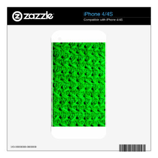 Fabric Checks modern design trend latest style fas Skins For The iPhone 4