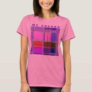 Fabric Cloth Colors Squares T-Shirt