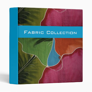 Fabric Collection Folder 3 Ring Binder