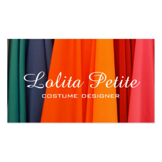 Fabric Costume Designer Fashion Alterations Double-Sided Standard Business Cards (Pack Of 100)