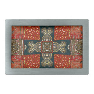 Fabric Cross Belt Buckle