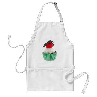 Fabric Cupcake Art Adult Apron